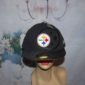 Pittsburgh Steelers Hat New Era NFL NWT Size XL